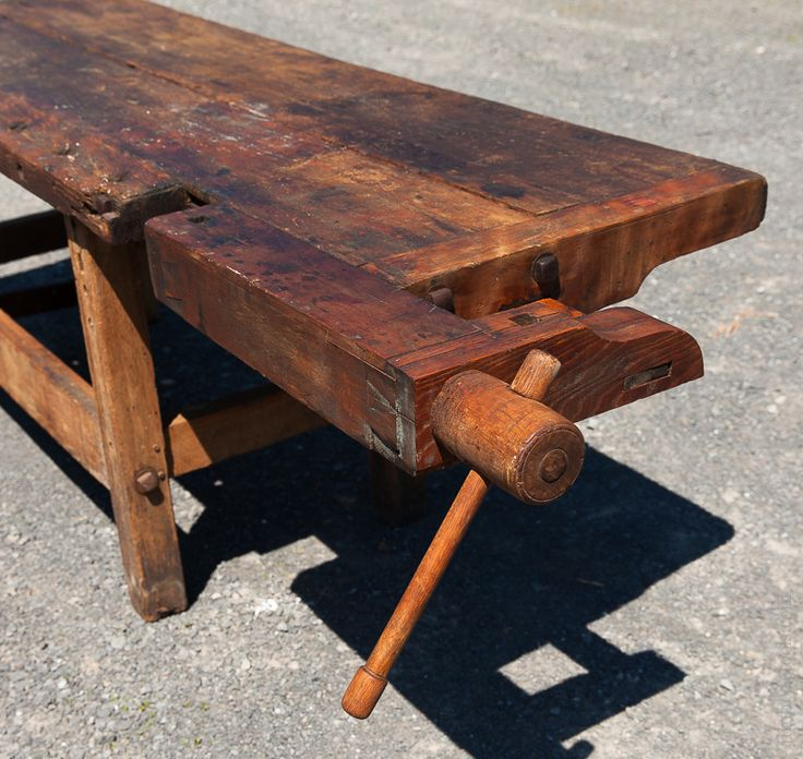 66 Best Antique Work Benches Images On Pinterest: Nine Foot 18th Century Traditional Work Bench