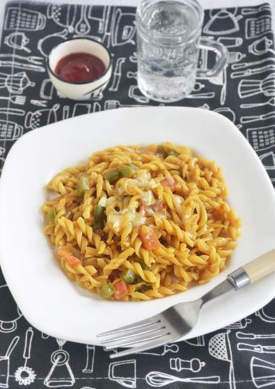 Fusilli Pasta : http://www.sharmispassions.com/2011/11/fusilli-pasta-in-tomato-sauce-easy.html