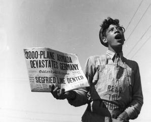 """Plane armada devasted Germany"", California, 1944 - Dorothea Lange by geneva"