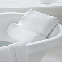 Memory Foam Bath Pillow. This is what I need for the whirlpool. I see this coming home with me very soon....