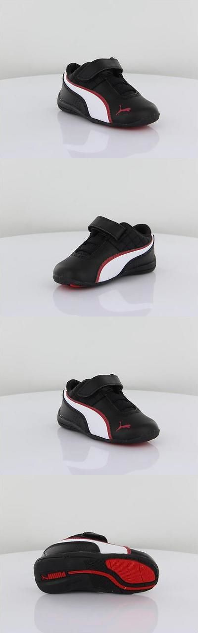 Baby Shoes 147285: Puma Drift Cat 6 L V Toddler Kids Black White Red Strap Shoes Sneakers Size 4-10 -> BUY IT NOW ONLY: $34.95 on eBay!