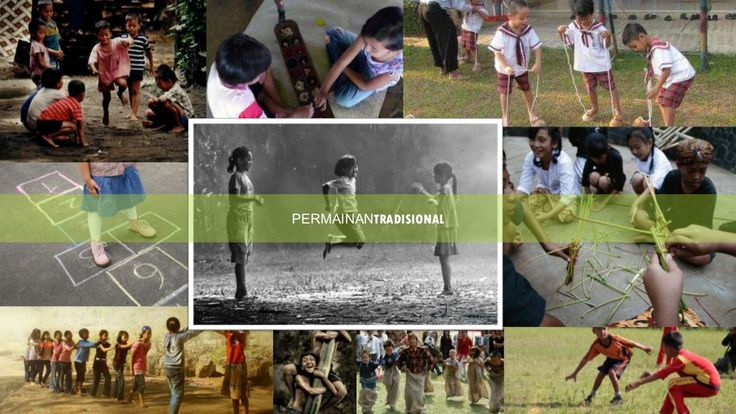 Sosio-antropologi Pendidikan : Permainan Tradisional