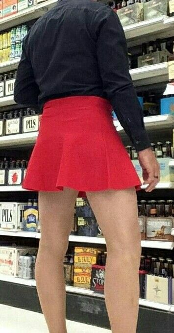 Like shorts skirts do work for guys! Actually much more comfortable but you have to discover that!