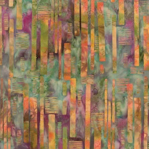 Hoffman Fabrics Bali Batiks 2016 Amazon Sunlight Slats