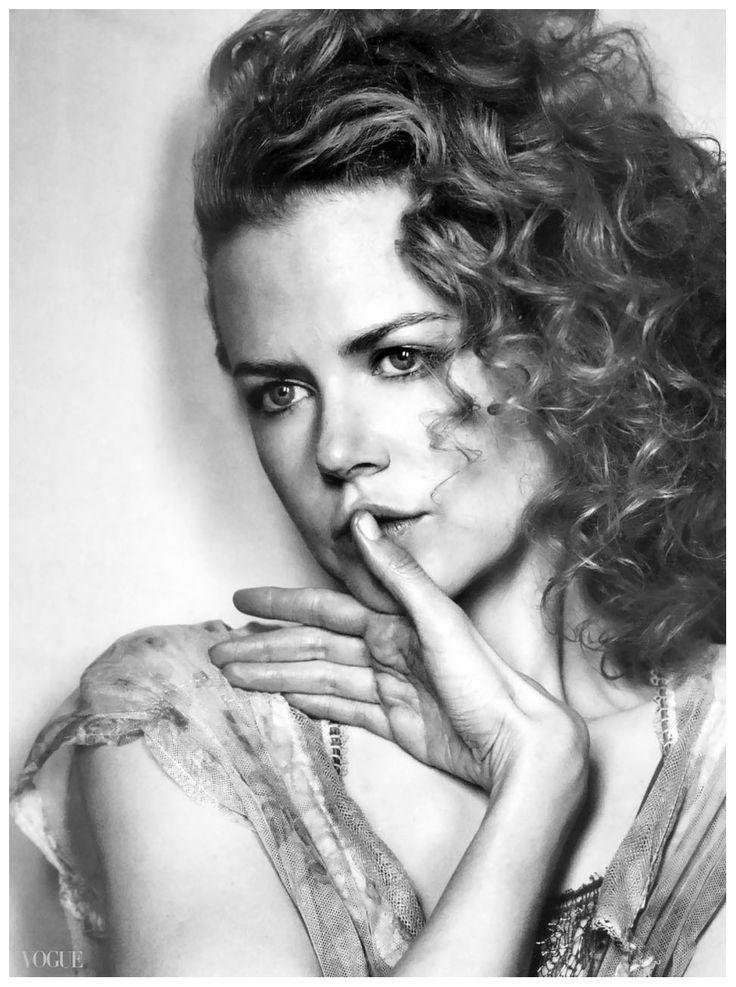 Nicole Kidman - Vogue by Irving Penn, September 2003