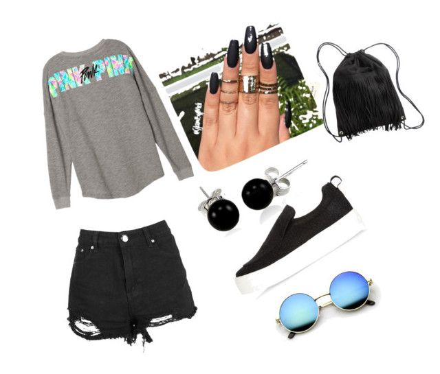 """Untitled #5"" by valentinarodriguez-iii on Polyvore featuring River Island, H&M and Bling Jewelry"