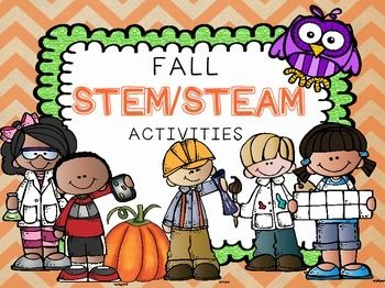 This is a big bundle of STEM and STEAM activities based on different fall themes (also great for Halloween and Thanksgiving). Activities and worksheets included in this set are:Apples-Life Cycle of an Apple Tree (science/technology)-Apple Tree Observation Journal (science)-Apple Taste Test and Graph (math)-Apple Prints (art)-Apple Chips Recipe (science/math)-Design an Apple Plate (engineering/design)Pumpkins-Pumpkin Life Cycle (science/technology)-How Heavy is that Pumpkin…