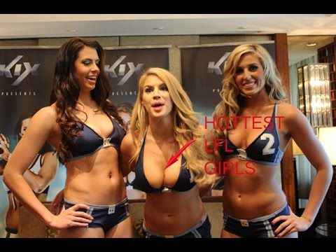LFL Fighting Girls Football - Sexiest Best Moments Hot, Female Vines #1