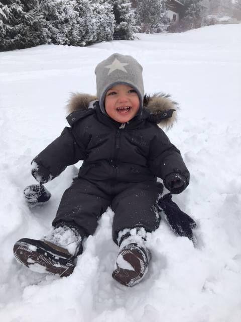 Prince Nicolas, Janvier 2016, Vacances d'hiver à Verbier (Suisse)