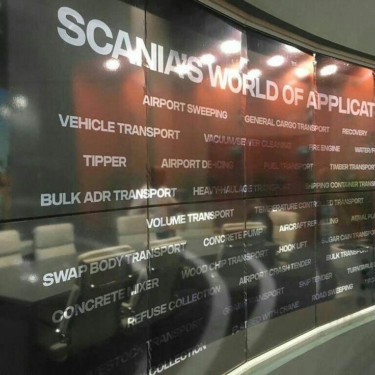 Custom Exhibition stand boardroom - Truck expo