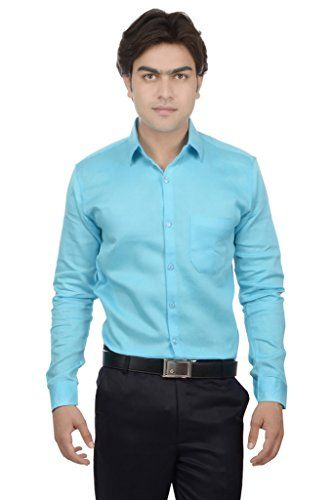 25th R Sky Blue 100% Cotton Slim Fit Solid Plain Self Textured Formal Shirts For Men 25th R http://www.amazon.in/dp/B01E6124Q6/ref=cm_sw_r_pi_dp_Namfxb1J4NMDR