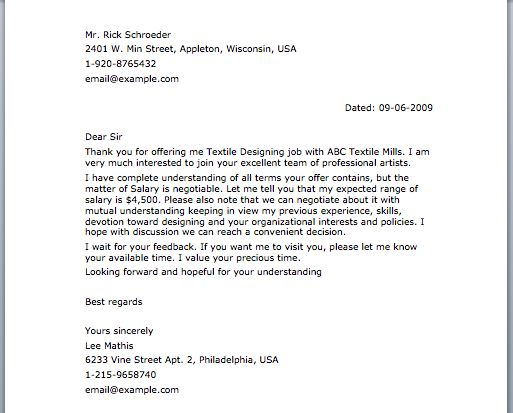 Negotiation Letter Letter Samples Pinterest