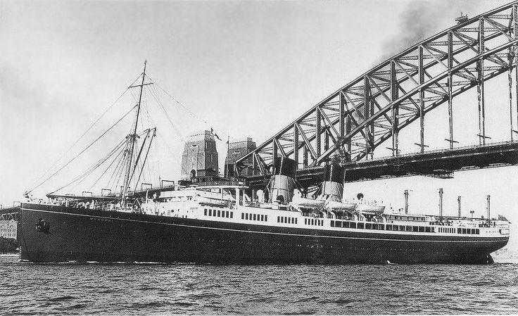 Union Stean Ship Co of New Zealand - TSS Monowai