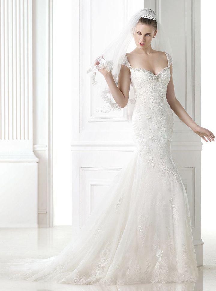 To see more glamorous Pronovias wedding dresses: http://www.modwedding.com/2014/11/25/editors-pick-favorite-pronovias-wedding-dresses/ #wedding #weddings #wedding_dress