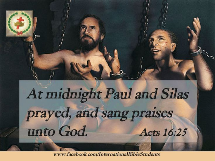 Acts 16:25