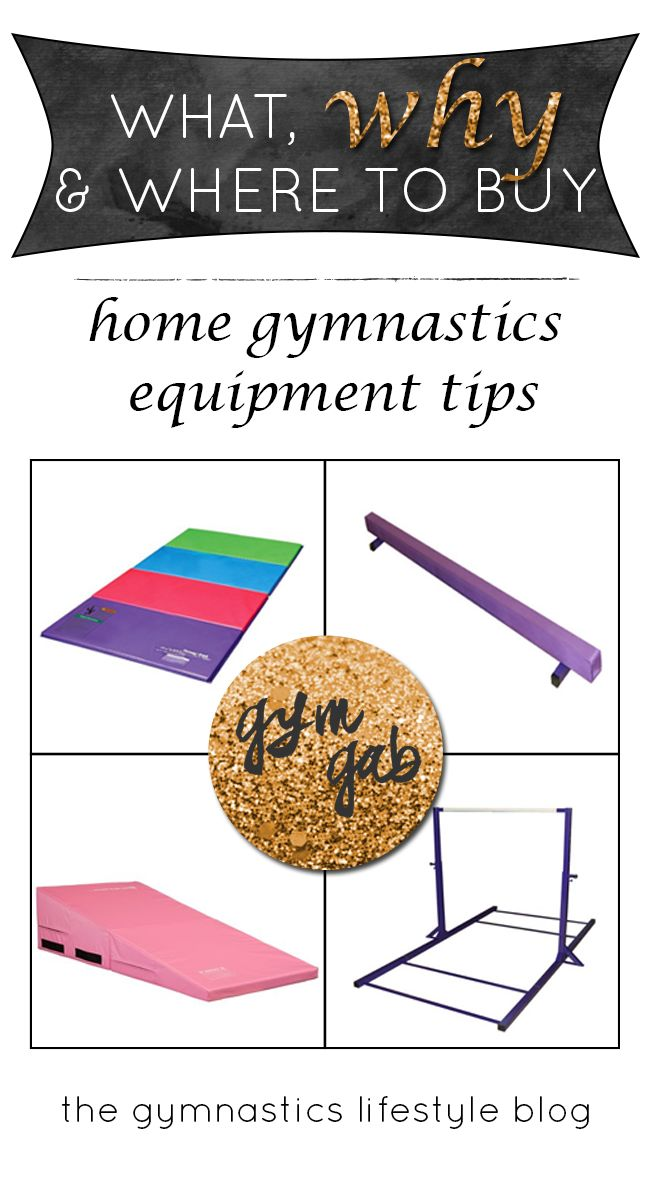 Tips to buying gymnastics equipment for the home.