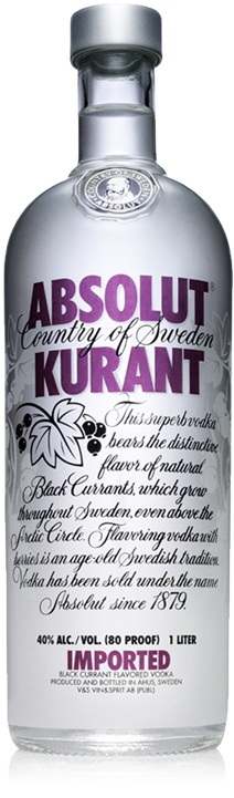Absolut Kurant - Grosella Negra | Black Currant