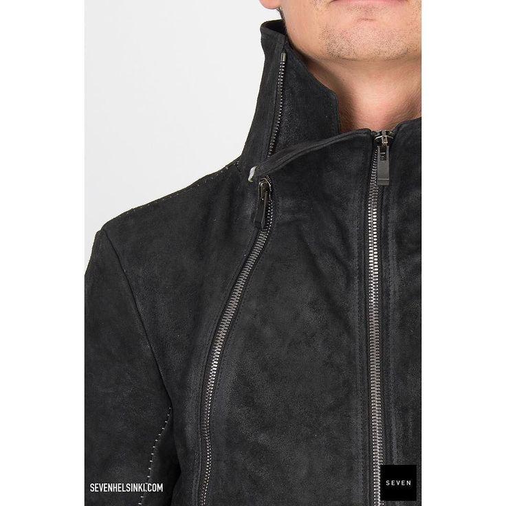 = Horse leather jacket from #incarnation #aw17 @ sevenhelsinki.com