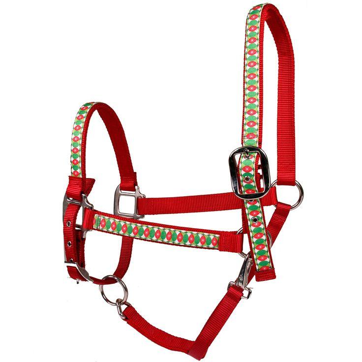Haute Horse Christmas Cheer on Nylon Horse Halter