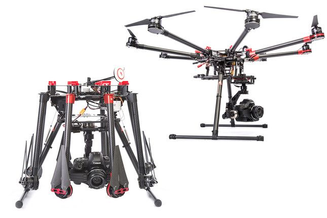 DJI Spreading Wings S1000 Professional Octocopter with Gimbal for Canon 5DIII