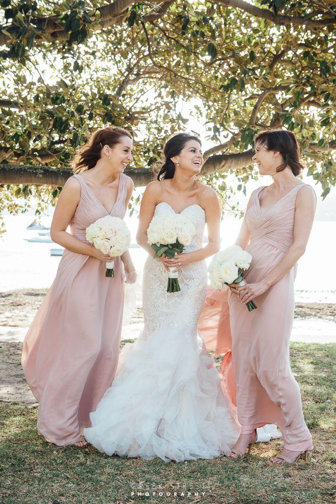 Wedding photos from Dunbar house - brdiesmaids