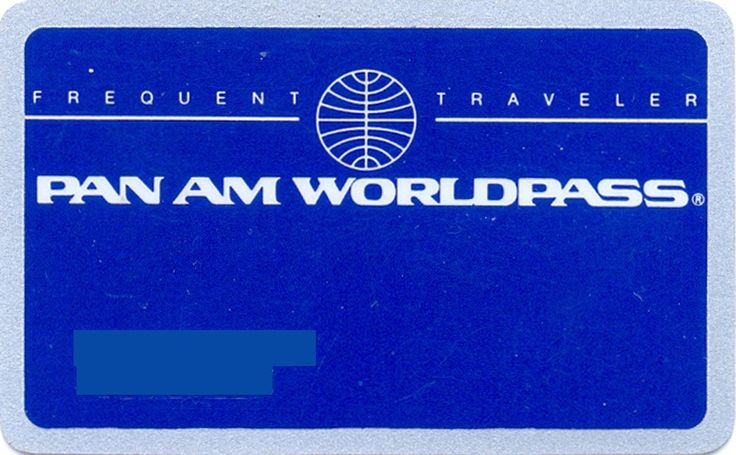 Pan Am Worldpass (Airlines, United States of America) (Pan Am)
