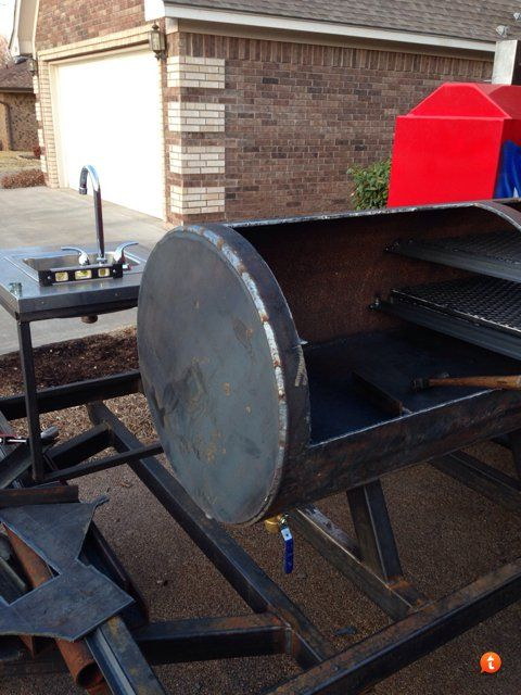 Started this build a few months back. I had a lonestargrillz trailer pit that worked well but i...