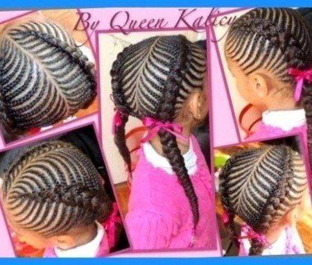 Terrific 1000 Ideas About Kids Braided Hairstyles On Pinterest Black Men Short Hairstyles Gunalazisus