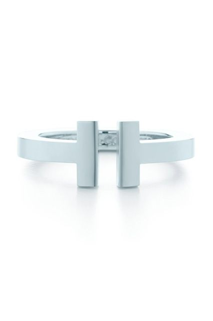 The Go-With-Everything Ring Give her jewelry box a little something-something with an open-front ring that will work flawlessly paired with any of her daily jewels.