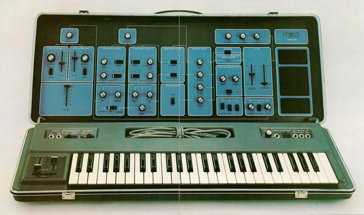 Vintage synthesizer