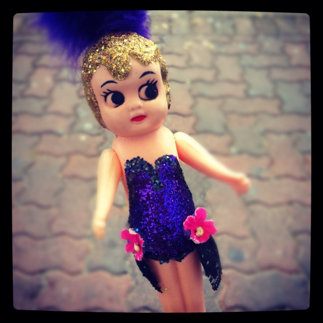 Cupie doll!! So retro carnival