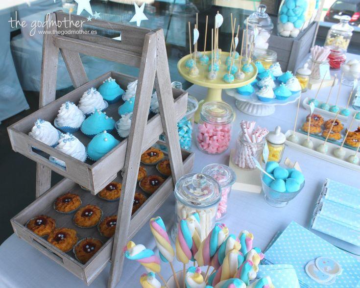 Mesa dulce bautizo candy bar bautizo mesa dulce for Mesa de dulces para bautizo de nina