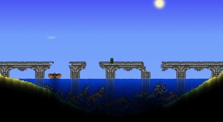 Collapsed Ocean Island Bridge by u/TerrarianKhaios