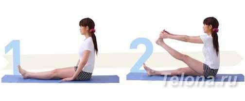 Эффективные упражнения для ног. Расслабление икроножной мышцы