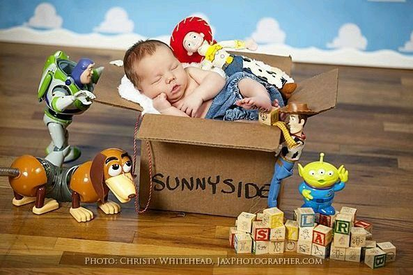 Boy (Toy) Story Baby Shower Thank you cards from baby .........