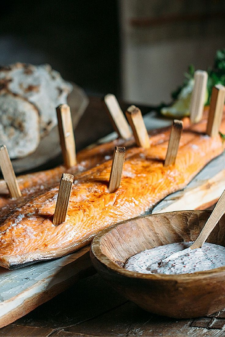 Viking salmon with flatbread and skagen sauce. Catch Adam Liaw on #DestinationFlavour Scandinavia, every Thursday at 7:30pm or SBS On Demand.