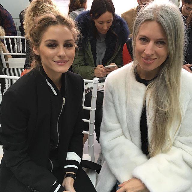デルポゾのフロントロウで、オリビア・パレルモと英ヴォーグのサラ・ハリスをキャッチ!Olivia Palermo and Sarah Harris from Vogue UK at Delpozo AW16. #delpozo #NYFW #AW16 @officialdelpozo @oliviapalermo @sarahharrisuk