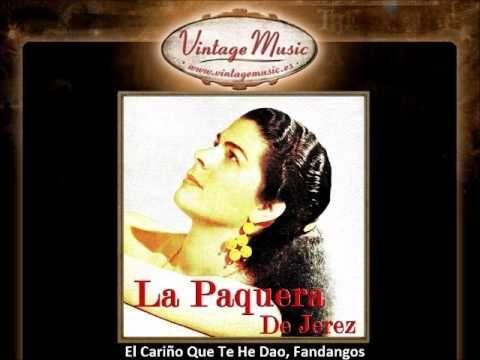 La Paquera de Jerez - El Cariño Que Te He Dao, Fandangos (VintageMusic.es)