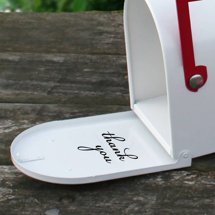 Wedding Mail Box, Personalised Postbox Floral Decal