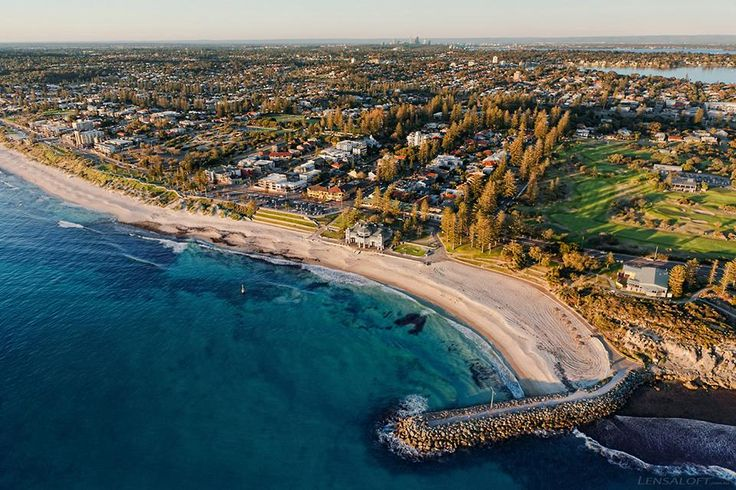 Aerial view of Indiana Cottesloe
