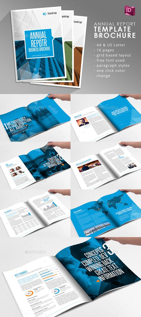 adobe indesign brochure template free - annual report print template graphicriver icons icons