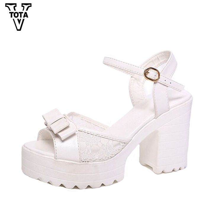 New Sandals Women Fashion Women Sandals Summer Shoes woman Open Toe Sandals Thick Heel High-heeled Bowtie Women's Shoes X258
