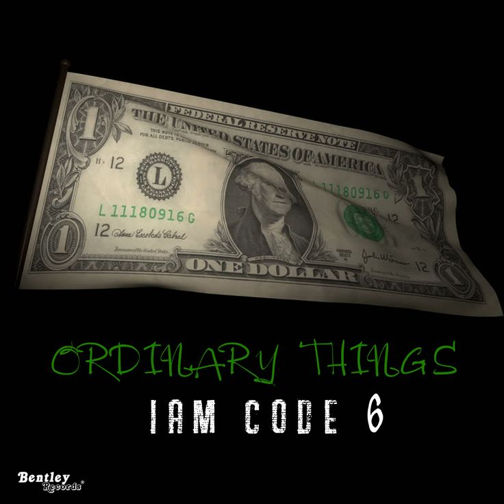 Listen to the Hip hop track Ordinary Things from Iam Code 6 on YouTube (scheduled via http://www.tailwindapp.com?utm_source=pinterest&utm_medium=twpin)