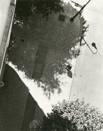 Gyorgy Kepes 1930. Gelatin silver print; printed c. 1977. Mounted to portfolio mount. 6 3/4 x 5 7/16 inches. Signed and dated.