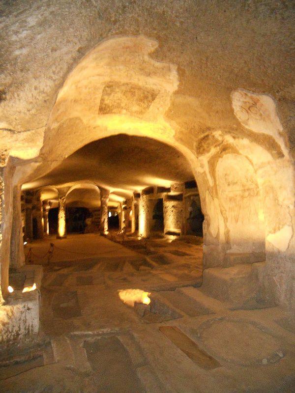Napoli, catacombe di San Gennaro #TuscanyAgriturismoGiratola