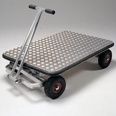 Optimum weight reduction whilst giving maximum load capacity. Turntable steering – Aluminium turntable assembly fitted with stainless steel bearing plate. Framework of all welded aluminium RHS. Steel axles, zinc plated. - See more at: https://actionhandling.co.uk/Our-Store/c/trucks/p/aluminium-turntable-truck#sthash.hBhHg8he.dpuf