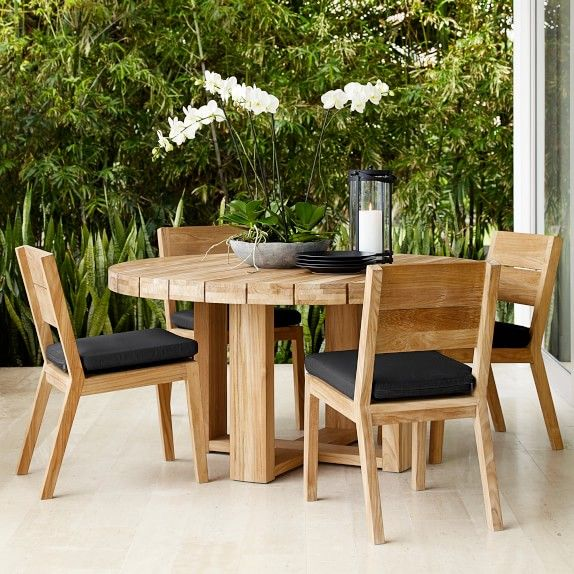 Larnaca Outdoor Round Dining Table In 2020 Round Outdoor Dining