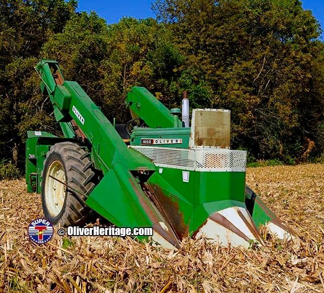 Cartoon Tractor Corn Picker : Images about oliver tractors on pinterest old