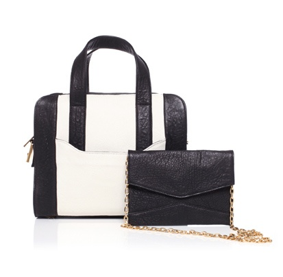 And we thought we mastered the classic bag in a bag trick....    Alexandra Satine's Rue Rivoli two-in-one handbag.