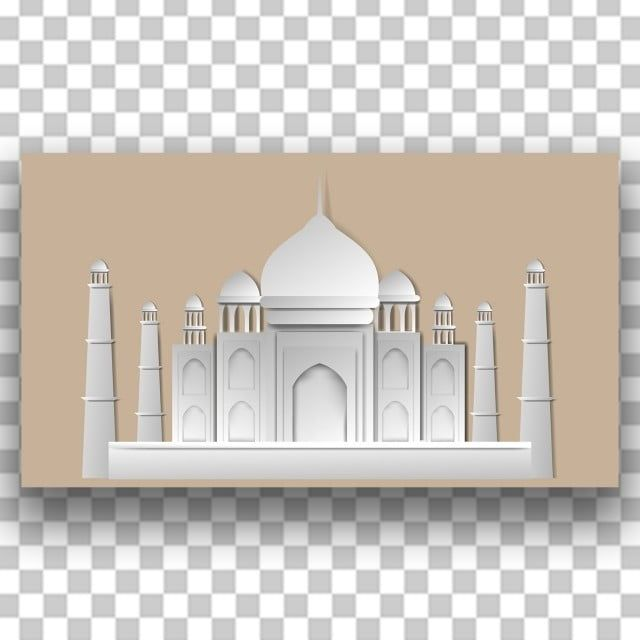 رمضان كريم فن الورق رمضان احتفال مسلم Png والمتجهات للتحميل مجانا Paper Art Ramadan Kareem Building